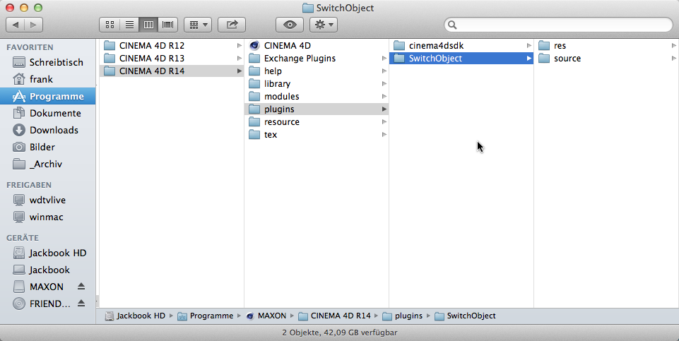 Creating a new plugin project in Xcode – MAXON SDK SUPPORT